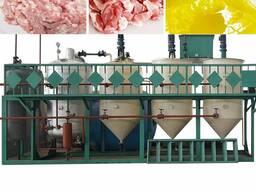 Линия переработки животных жиров, сала для кормового жира