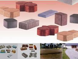 Оборудование по производству брусчатки и бетонных блоков QF4 - фото 3