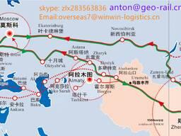 Грузоперевозка из Китая в ташкент и в алматы