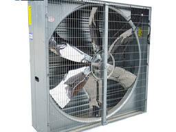 Осевые настенные вентиляторы для свинарник, птичник коровник