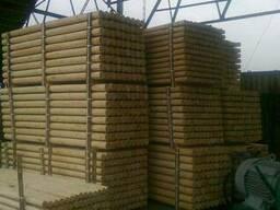 Pine poles
