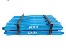 Платы дробящие для щековых дробилок Metso Sandvik Terex Symons Shanbao Telsmith Hazemag