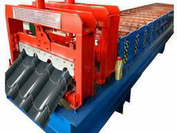 Полнокомплектная линия для производства металлочерепицы «Бан