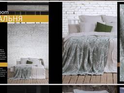 Постельное белье, кухонные и банные принадлежности изо льна