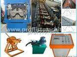 Продаем линию для изготовления кровельного конька в Китае - фото 1