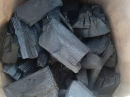 Древесный уголь береза.