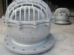 Продаю клапан обратный донный стальной Ру16 Ду350 Китай