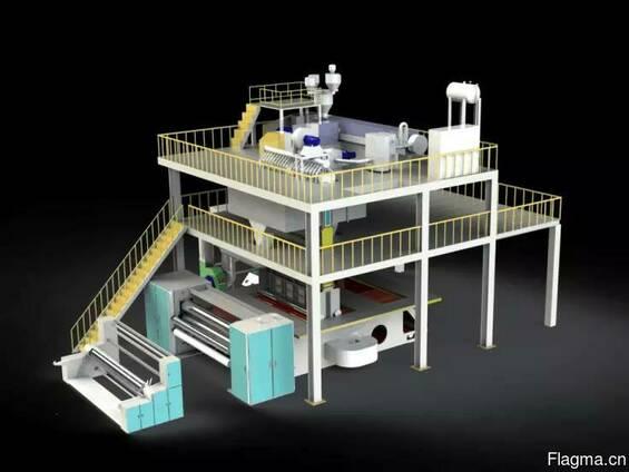 Производит оборудования для производства нетканых материалов