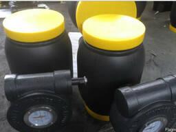 Q361F-Кран шаровой цельносварной стальной с редуктором Ру25