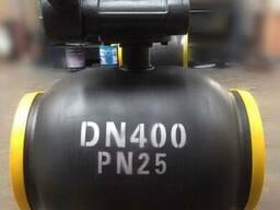 Q367F-Кран шаровой цельносварной стандартнопроходной Ру25 Ду