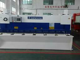 QC11YK-6X3200 высокоскоростные гильотины гидравлические