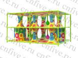 Красочные сети -Радужный скалодром Радужная башня - фото 4