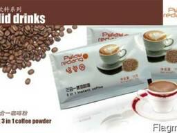 Растворимое кофе 3 в 1