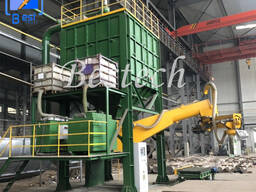 Resin Sand Regeneration Production Line