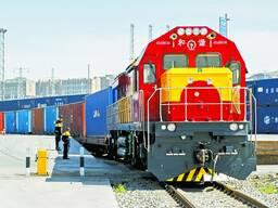 Belarus wood transport to china