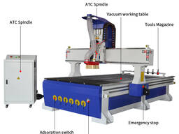 SIGN-1325 ATC деревообрабатывающий фрезерный станок с чпу