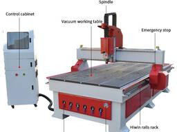 SIGN-1325 деревообрабатывающий станок с ЧПУ с вакуумном