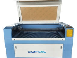 SIGN-1390 CO2 лазерная гравировка и резка по дереву