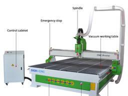 SIGN-2030 Фрезерный станок с ЧПУ с вакуумном столом
