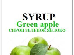 Сироп syrup Jolly Jocker green apple зеленое яблоко