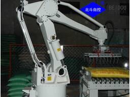 Система складывания в стопку для производства удобрения