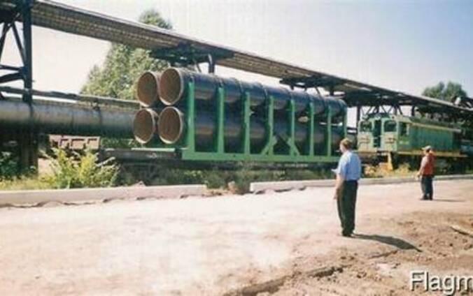 Сменные кузова для перевозки леса и труб