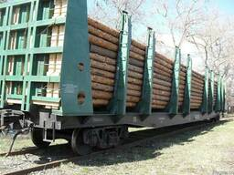 Сменные кузова для перевозки леса и труб - фото 2