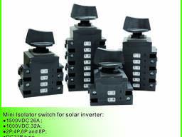 Солнечный переключатель изолататора для солнечного инвертора