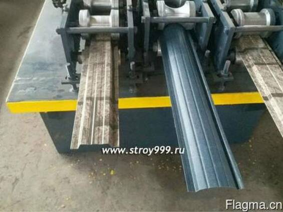 Станок для изготовления металлического штакетника в Китае