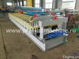 Станок для производства металлочерепицы 830 в Китае - фото 1