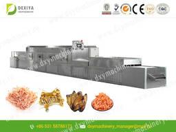 СВЧ установка для сушки и стерилизации морепродуктов