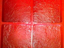 Термополиуретановые формы для производства тротуарной плитки