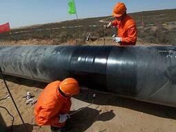 Термоусадочная манжета для изоляции стыков стальных труб
