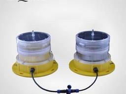 TY10D Solar LED Dual Aviation Obstruction Light