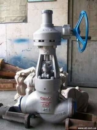 Вентиль высокого давления под приварку с редуктором