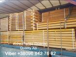 We sell sawn timber, edged planks Aspen, Alder - фото 2