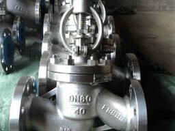 Запорный вентиль нержавеющий 15нж22нж Ру40 Ду80 из Китая