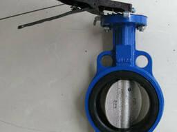 Затвор дисковый межфланцевый с центриситетом Ру16 Ду100 Кита