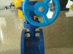 Затвор дисковый поворотный трехэксцентриковый Ру16 Ду100