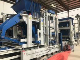 Зенит 1500 автоматический вибропресс с формовкой на поддон