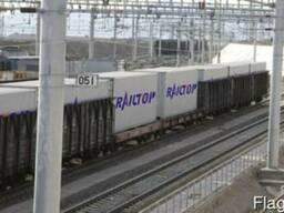 Контейнерные перевозкиЖД транспортом из Шанхая в Москву