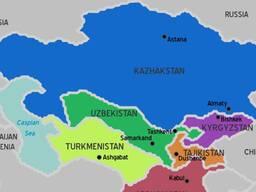 Железнодорожная доставка из Китая - Центральная Азия
