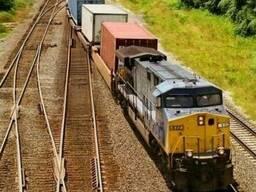 Железнодорожных перевозки Китай—Средняя Азия